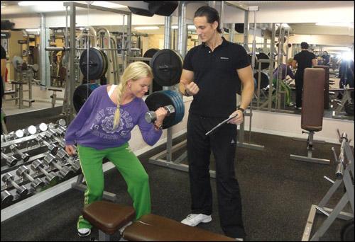 nybörjare gym övningar
