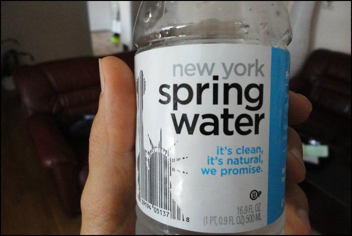 dricka destillerat vatten