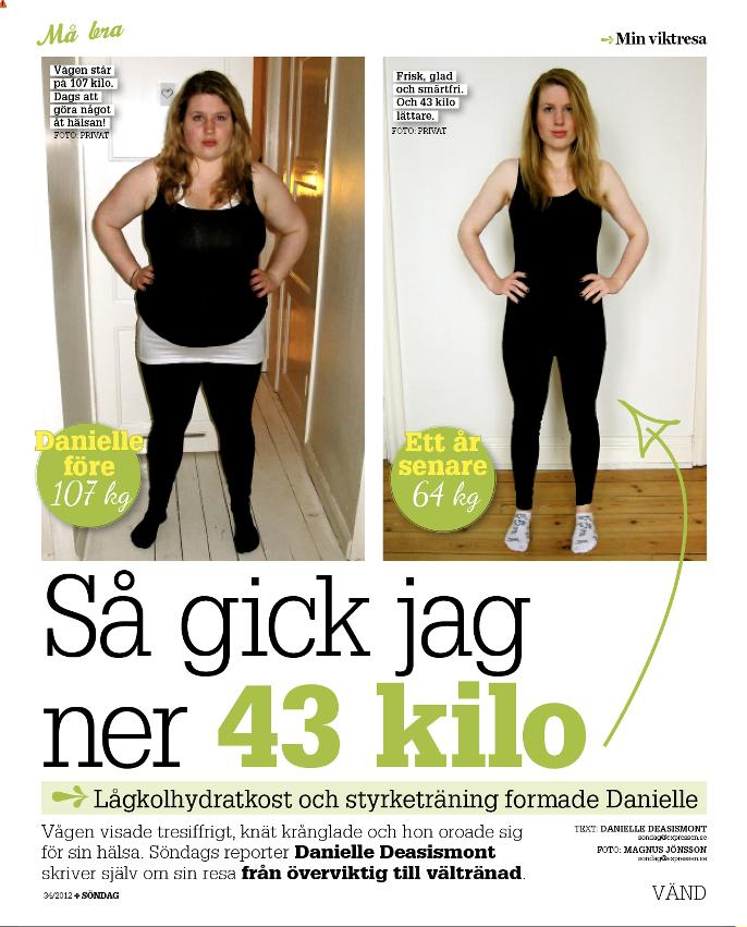 att gå ner i vikt efter 50