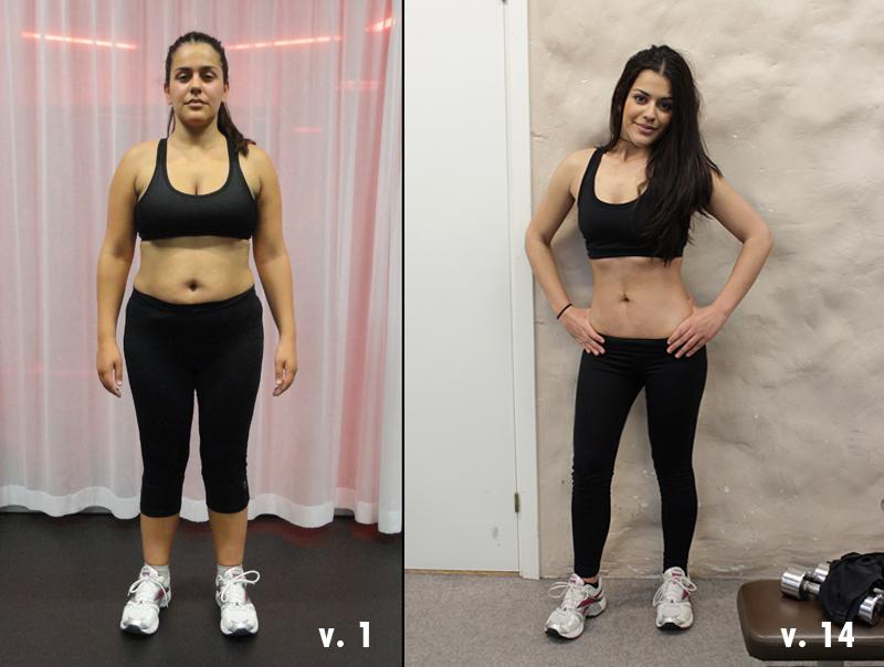 träning för att gå ned i vikt