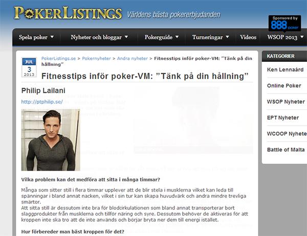 pokerlisting