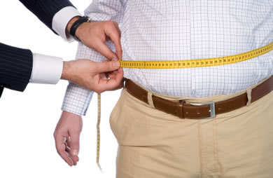 over_weight_measure_tape_waist_man