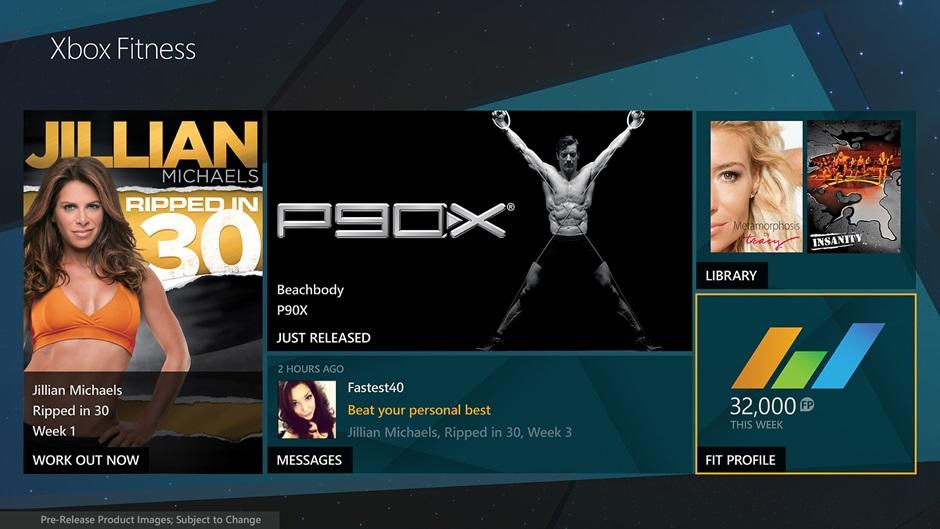 xbox fitness hero